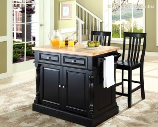 Modern Butcher Block Kitchen Island Ideas - 310 x250