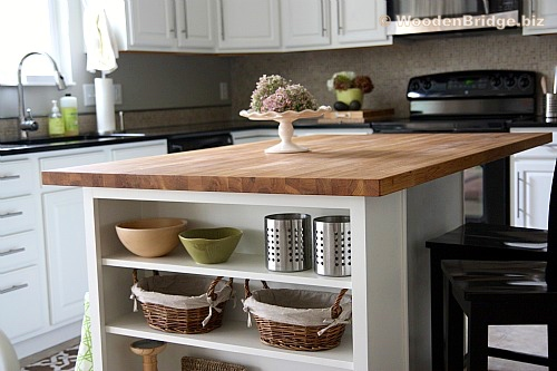 Modern Butcher Block Kitchen Island Ideas - 500 x333