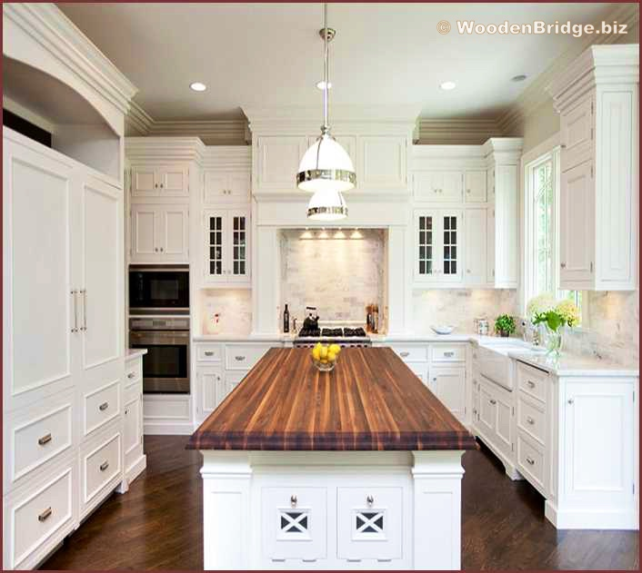 Modern Butcher Block Kitchen Island Ideas - 706 x631