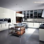 Modern Stainless Steel Kitchen Cabinets Ideas - 3266 x 2449