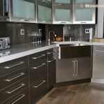 Modern Stainless Steel Kitchen Cabinets Ideas - 450 x 301