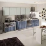 Modern Stainless Steel Kitchen Cabinets Ideas - 550 x 408
