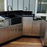 Modern Stainless Steel Kitchen Cabinets Ideas - 585 x 329