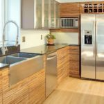 Modern Stainless Steel Kitchen Cabinets Ideas - 616 x 462