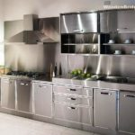 Modern Stainless Steel Kitchen Cabinets Ideas - 692 x 550