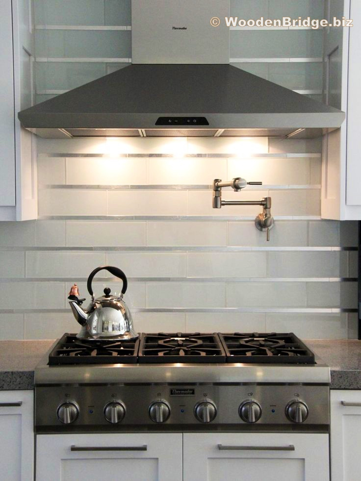 Modern Stainless Steel Kitchen Cabinets Ideas - 736 x 981