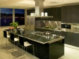 Modern Stainless Steel Kitchen Cabinets Ideas