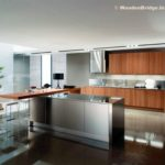 Modern Stainless Steel Kitchen Cabinets Ideas - 800 x 746