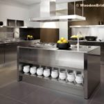 Modern Stainless Steel Kitchen Cabinets Ideas - 819 x 639