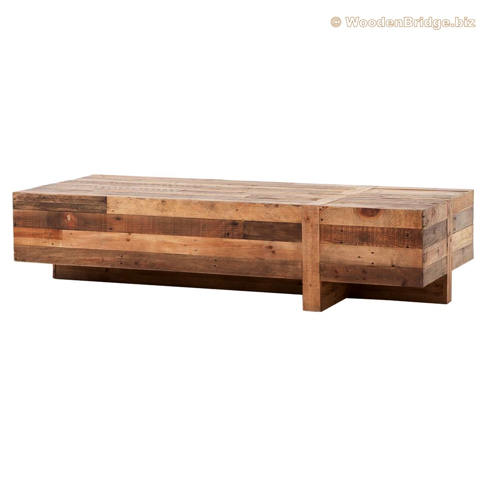 Reclaimed Wood Coffee Tables Ideas - 1000 x 1000 1