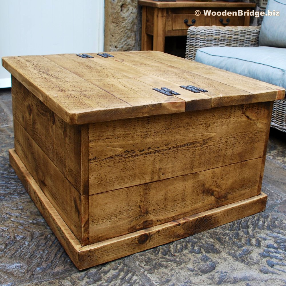 Reclaimed Wood Coffee Tables Ideas - 1000 x 1000 4