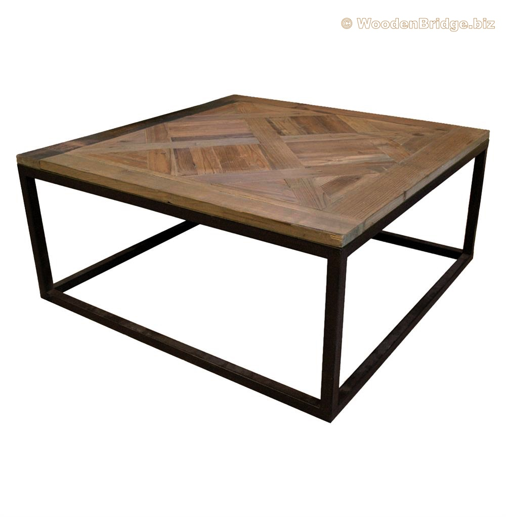 Reclaimed Wood Coffee Tables Ideas - 1000 x 1021 1