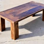 Reclaimed Wood Coffee Tables Ideas - 1023 x 767