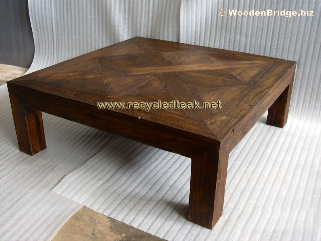 Reclaimed Wood Coffee Tables Ideas - 1024 x 768 2