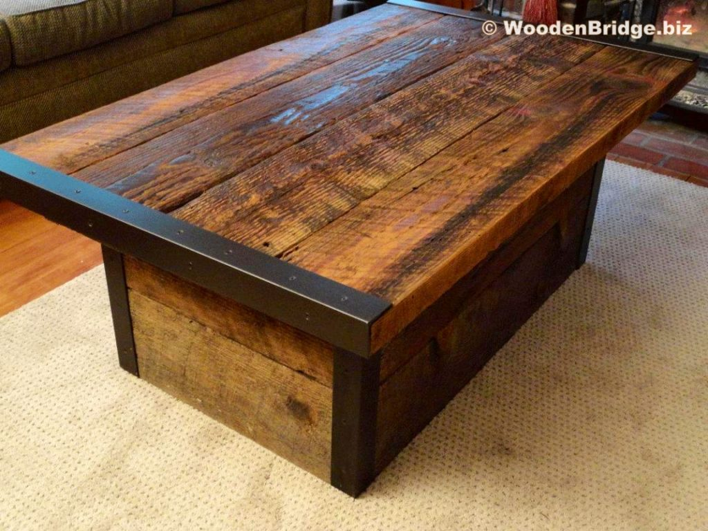 Reclaimed Wood Coffee Tables Ideas - 1152 x 864