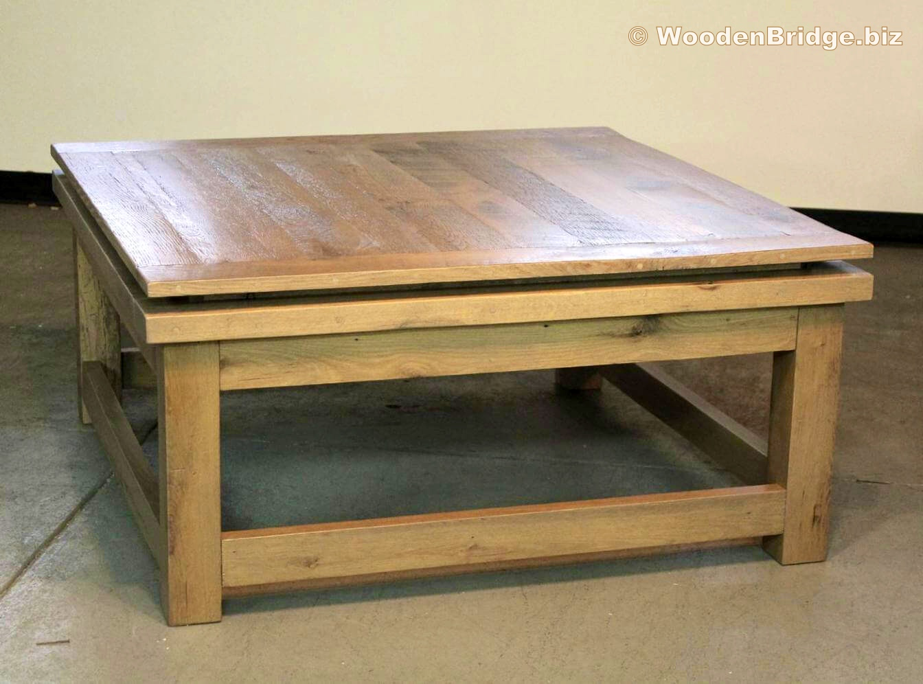 Reclaimed Wood Coffee Tables Ideas - 1344 x 996