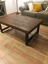 Reclaimed Wood Coffee Tables Ideas – 169 x 225
