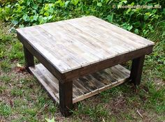 Reclaimed Wood Coffee Tables Ideas - 236 x 175