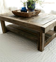 Reclaimed Wood Coffee Tables Ideas - 236 x 262