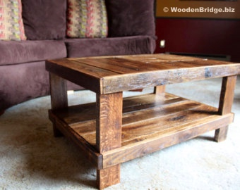 Reclaimed Wood Coffee Tables Ideas – 340 x 270 14