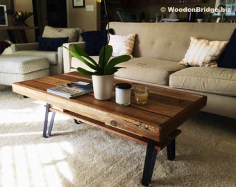Reclaimed Wood Coffee Tables Ideas - 340 x 270 2