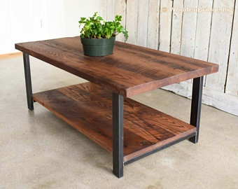 Reclaimed Wood Coffee Tables Ideas - 340 x 270 7