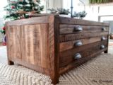 Reclaimed Wood Coffee Tables Ideas   440 x 320 7