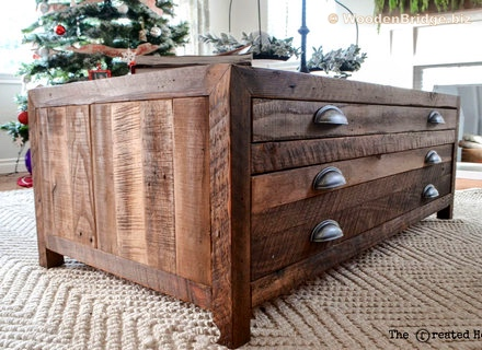 Reclaimed Wood Coffee Tables Ideas - 440 x 320 7