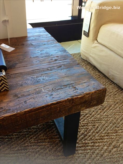 Reclaimed Wood Coffee Tables Ideas - 474 x 632