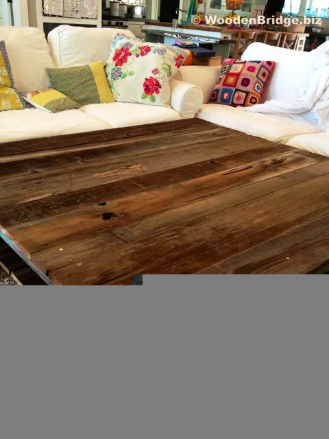 NOOOOOO – Reclaimed Wood Coffee Tables Ideas – 480 x 640