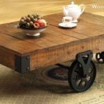 Reclaimed Wood Coffee Tables Ideas - 500 x 276