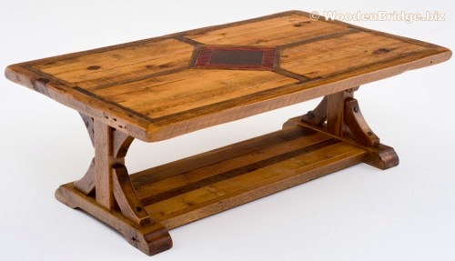 Reclaimed Wood Coffee Tables Ideas - 500 x 287