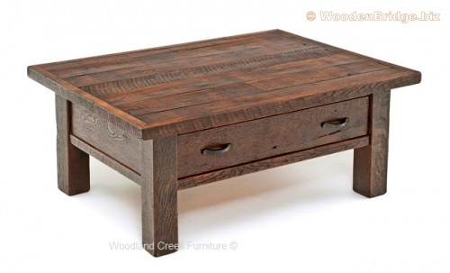 Reclaimed Wood Coffee Tables Ideas - 500 x 303