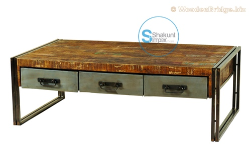 Reclaimed Wood Coffee Tables Ideas - 500 x 332