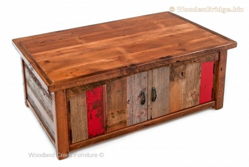 Reclaimed Wood Coffee Tables Ideas - 500 x 336