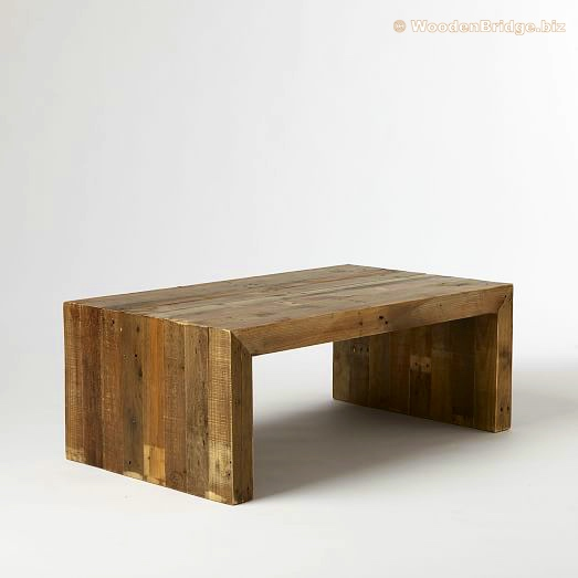 Reclaimed Wood Coffee Tables Ideas - 523 x 523 1