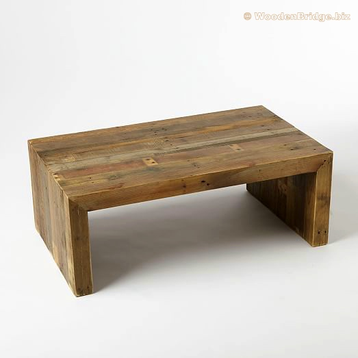 Reclaimed Wood Coffee Tables Ideas - 523 x 523