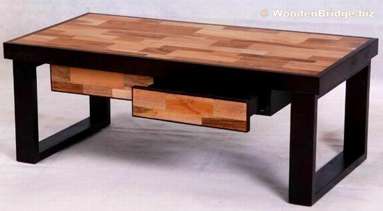 Reclaimed Wood Coffee Tables Ideas - 550 x 304