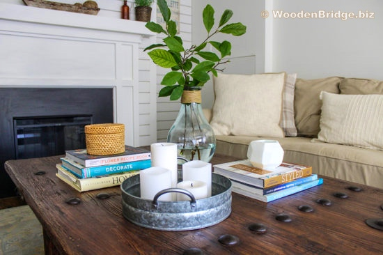 Reclaimed Wood Coffee Tables Ideas - 550 x 366