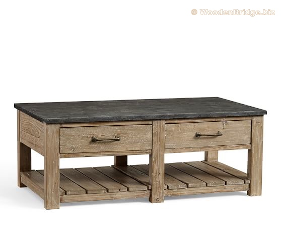 Reclaimed Wood Coffee Tables Ideas - 558 x 501
