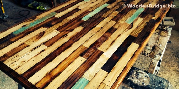 Reclaimed Wood Coffee Tables Ideas – 570 x 285