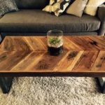 Reclaimed Wood Coffee Tables Ideas - 570 x 428