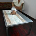 Reclaimed Wood Coffee Tables Ideas - 570 x 760