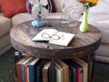 Reclaimed Wood Coffee Tables Ideas   570 x 827