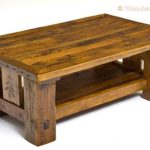 Reclaimed Wood Coffee Tables Ideas - 600 x 382