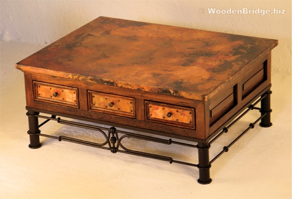 Reclaimed Wood Coffee Tables Ideas – 600 x 409