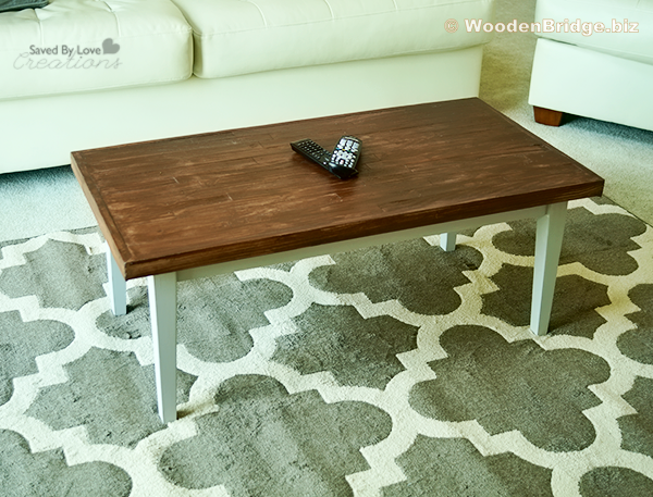 Reclaimed Wood Coffee Tables Ideas - 600 x 457