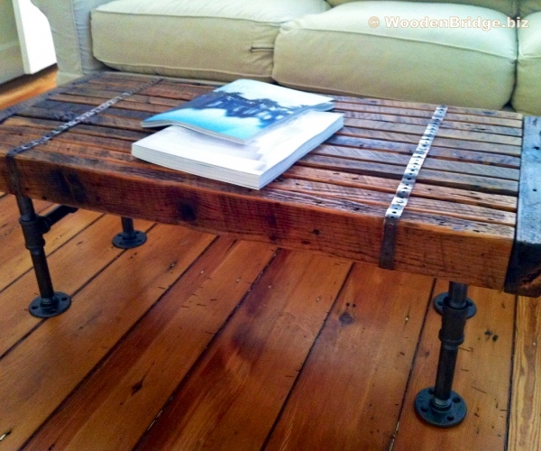 Reclaimed Wood Coffee Tables Ideas - 600 x 500