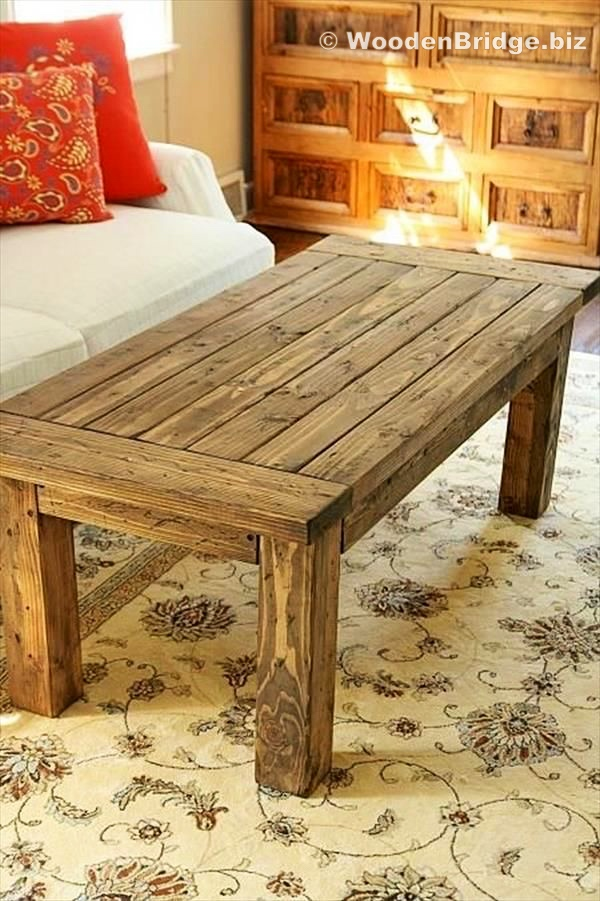 Reclaimed Wood Coffee Tables Ideas - 600 x 901