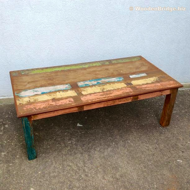 Reclaimed Wood Coffee Tables Ideas - 611 x 611